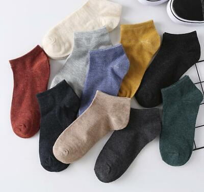 10 pairs of ankle socks summer men's casual sports cotton-blend socks