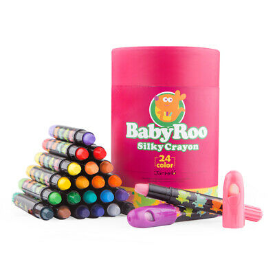 Crayon Baby-Roo Silky Washable Face & Body Drawing 24 Colors