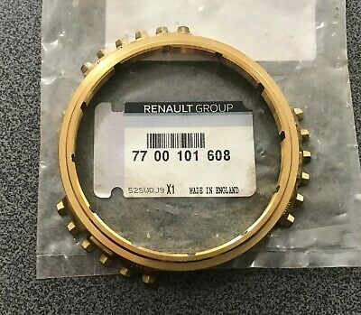 GENUINE RENAULT TRAFIC PK6 GEARBOX 3 PART 3RD GEAR BAULK RINGS 7701471580