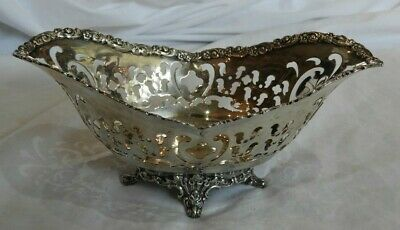 Tiffany & Co Sterling Silver Slotted Dish Bowl or Small Basket