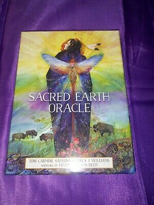 Sacred Earth Oracle Cards NEW Deck and Book Set by US Games open box