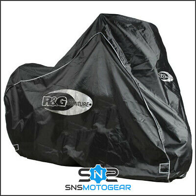 500CCM JMP Motomike blau//silber bike cover up to 500cc Royal Enfield Faltgarage