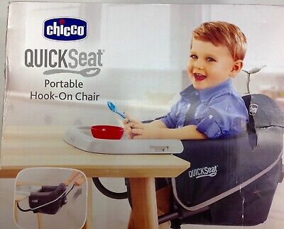 Chicco QuickSeat Portable Hook-On Chair Up To 37 Lbs. LTX1246