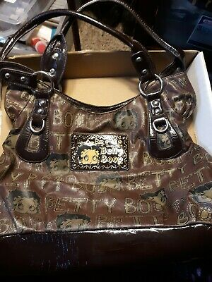 Betty Boop Faux Leather Purse