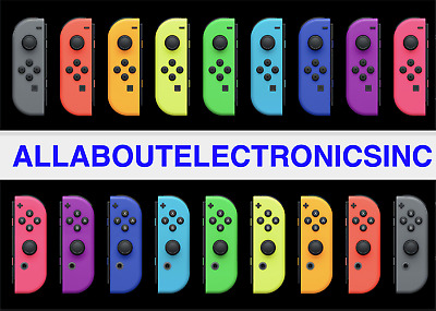 NEW Genuine Nintendo Switch Joy Con JoyCon Controller Single W/ Strap Left Right