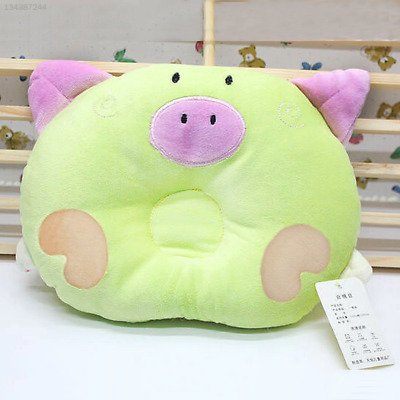Green Sleepping Pillow Anti Roll Infant Cushion Shaping Head Support Bedding