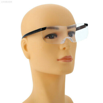 0CFF Fashion 250° Magnifiers Presbyopic Glasses 250 Degree PC Black Spectacles
