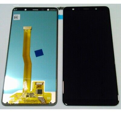 Display Originale Service Pack Samsung Galaxy A7 2018 A750F Nero Gh96-12078A