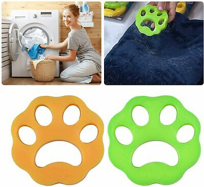 Pet Hair Remover for Laundry Reusable Washing Machine Floating Pet Fur Catcher