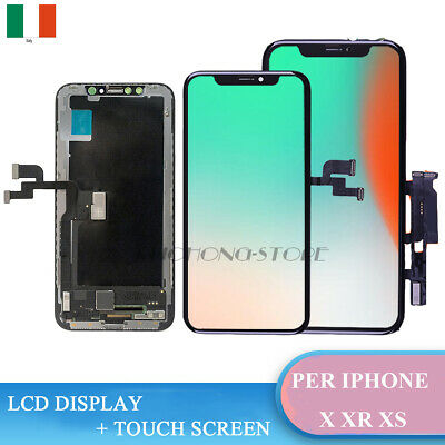 Schermo Display Con Oled Per Apple Iphone X 10 Xs Xr Lcd Touch Screen Frame