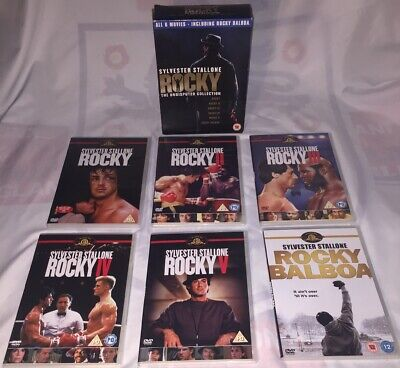 Sylvester Stallone - Rocky The Undisputed Collection - 6 movies !! boxing Dvd