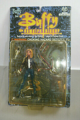 Buffy the Vampire Slayer Buffy Action Figure Moore New Orig. Packaging (K92)