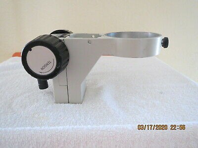 "Nikon 76 mm microscope focus mount with 5/8"" mount, also fits Olympus & Leica"