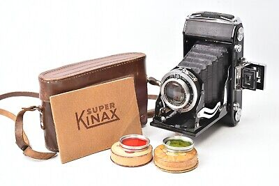 Camera Folding Super Kinax with Lens Bellor F/3.5 - 100mm + Filters