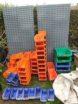 Free Standing Storage Rack X2 With Boxes