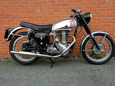 BSA Gold Star 500cc 1953 With Upgraded Engine - lots of money spent