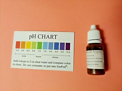 pH Test Drops pH Reagent Kit Alkaline Water Tester For Drinking Water