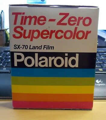 Vintage Polaroid Time-Zero Supercolor SX-70 Land Color Film 06/84