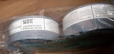 Pair Scott Replacement Filter Cartridge #642-AG Respiratory freeship