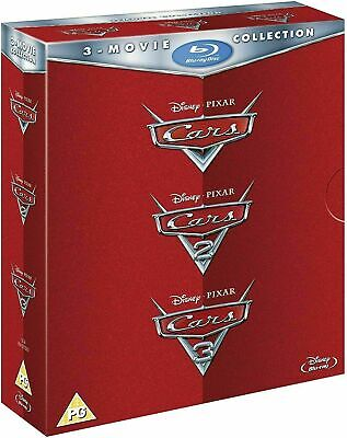 Cars 1, 2 & 3 - Trilogy Movie Collection [Blu-ray] New!