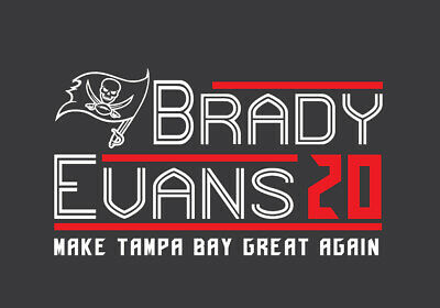 Tom Brady Mike Evans 20 Campaign shirt Tampa Bay Buccaneers 2020 TB12 football