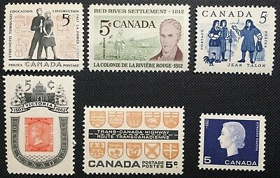 Canada Stamp - Complete Set of 1962 Issues