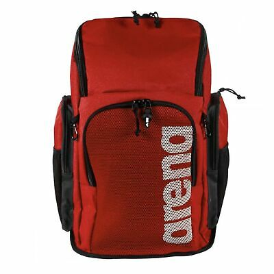 Arena Team Backpack 45 Litre Team Red Swimming Backpack Rucksack