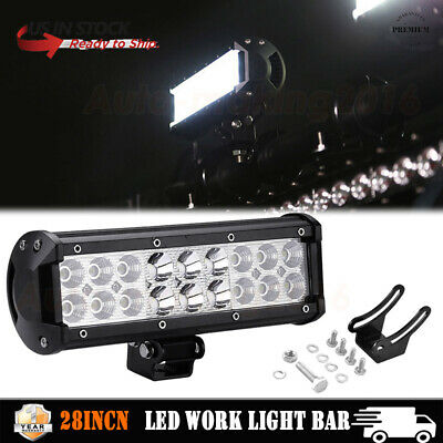 "Universal ATV Handlebar Mount Yamaha WR250F Kodiak 400 YFZ450 6/"" Led Light Bar"