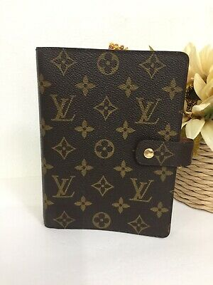 Louis Vuitton Monogram Agenda MM Diary Cover Organizer