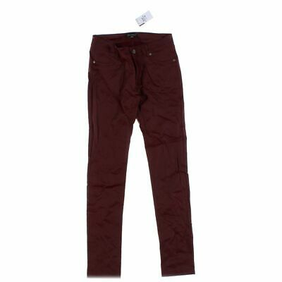 Shinestar Girls  Stretch Pants size JR 11,  maroon,  nylon, rayon, spandex