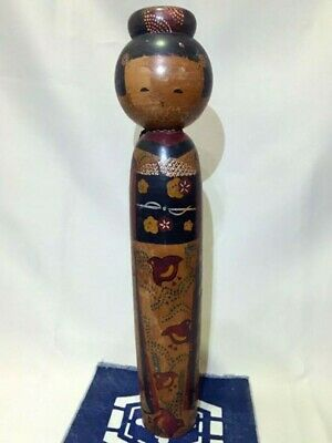 Creative Vintage KOKESHI Doll Japanese traditional crafts 45cm 1951