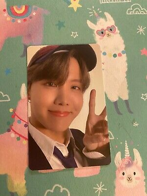 BTS Map Of The Soul 7 Official Photocard Jhope Ver 4