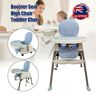 3 in 1 Baby Infant Dining High Chair Toddler Eating Feeding Table Booster Seat J