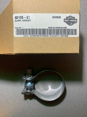 NEW GENUINE Harley Davidson 65108-01 Exhaust Clamp MADE IN USA