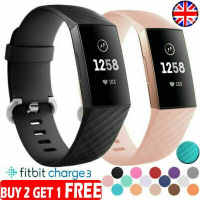 For Fitbit Charge 3 Wrist Straps Wristband Replacement Accessory Watch Loop Band