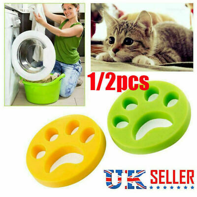 Reusable Pet Hair Remover Brush, Cat Lint Dog Fur for Laundry Washing Machine