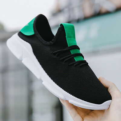 2 PCS Mens Athletic Sneakers Sports Running Shoes Outdoor Casual Breathable US7