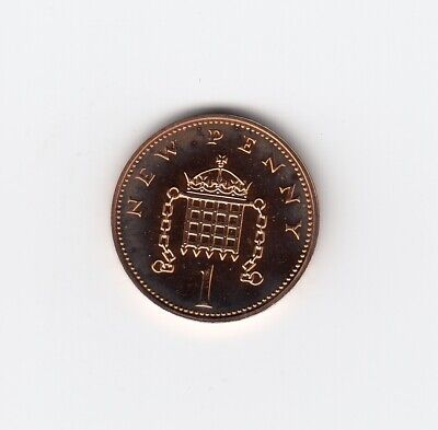 1978 ONE PENNY 1p In PROOF Condition Extremely Nice 1p Piece   (5047)