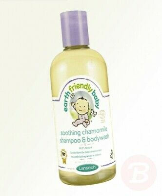 Earth Friendly Baby Shampoo & Bodywash Soothing Chamomile, 250 ml