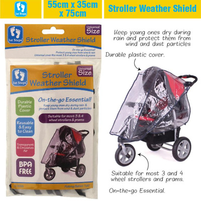 Magic Waterproof Wind Shield Baby Stroller Pushchair Pram Rain Cover Hot