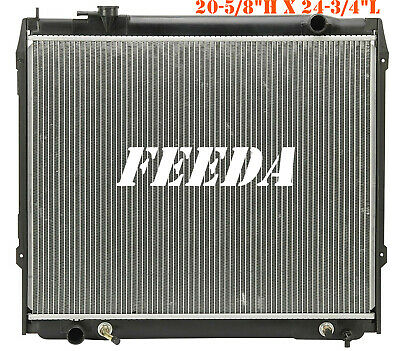 "20-5/8"" Core H New Radiator For 1995-2004 Toyota Tacoma 3.4 V6 2.4 2.7 l4 CU1774"