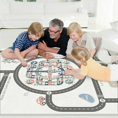 1.8*2m Large Baby Kids Floor Play Mat Rug Picnic Cushion Crawling Double  A