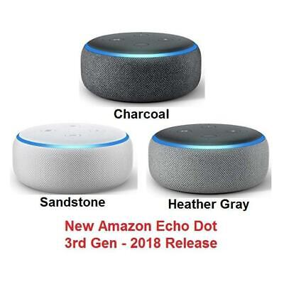 Amazon Echo Dot 3rd Generation Smart Speaker with Alexa - UK STOCK - NEW