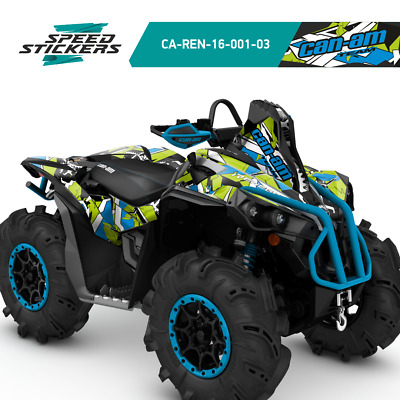 G1 ATV GRAPHICS BRP Can-am 800 outlander decals Defoult mr xmr 889