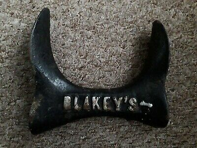 Blakeys Vintage Cast Iron Shoe Lasts