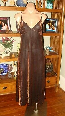 "Ladies/Women's Vintage Marilyn Monroe by Warners Nightgown - Bust to 38""- Bronze"