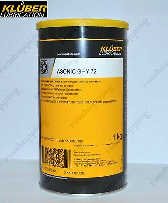 SALE Kluber Asonic GHY 72, 1kg Synthetic grease Germany, bearing lubrication
