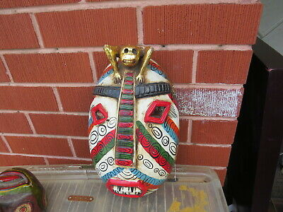 Vintage Hand Carved Painted Wooden Tribal Mask Wall Hanging african?