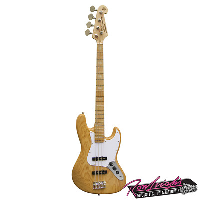 SX ASH6JB Ash Series 4 String Jazz Bass Guitar