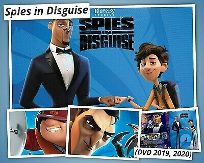 Spies in Disguise Movie (DVD 2020)  FREE SHIPPING NEW SEALED